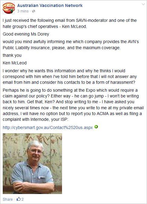 AVN 6790 Dorey Ken report to ACMA