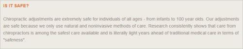 Le Coz 51 website comparative advertising adjustments safer than medicine