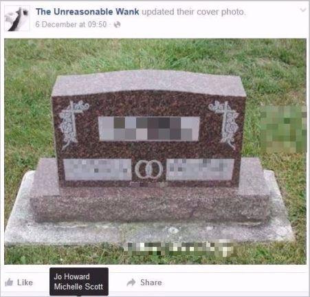 UW 12 headstone pixelated