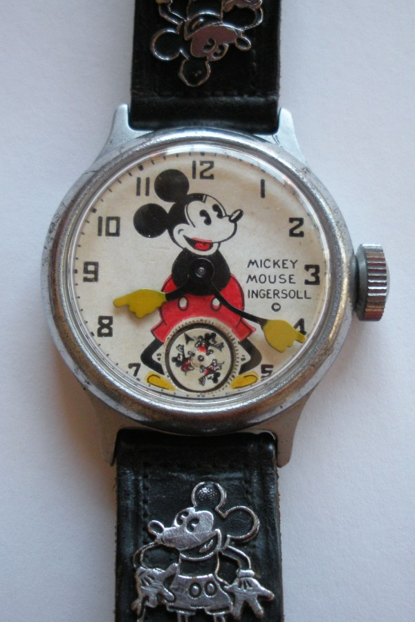 Rare Antique Find 1934 Ingersoll Mickey Mouse