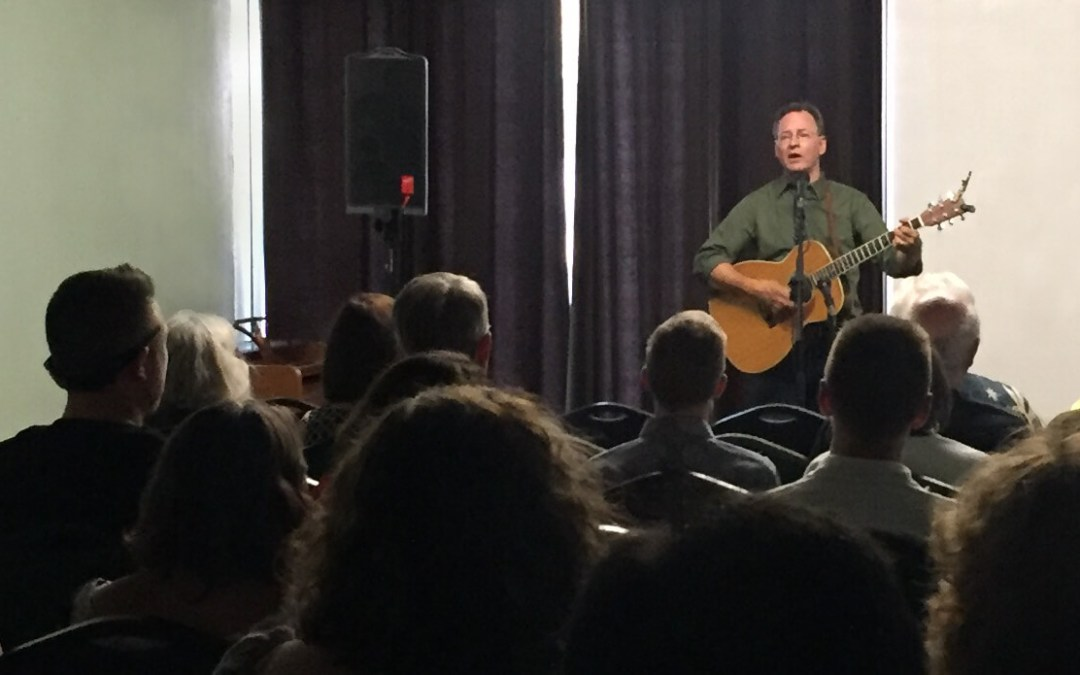 2018/08/09: Roy Zimmerman's RiZe Up Concert at Reason Center