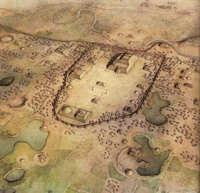 """Cahokia site"" by Varing - Own work. Licensed under Creative Commons Attribution-Share Alike 3.0 via Wikimedia Commons - http://commons.wikimedia.org/wiki/File:Cahokia_site.jpg#mediaviewer/File:Cahokia_site.jpg"