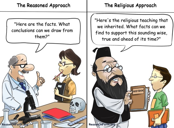Reasoned vs Religious Approaches
