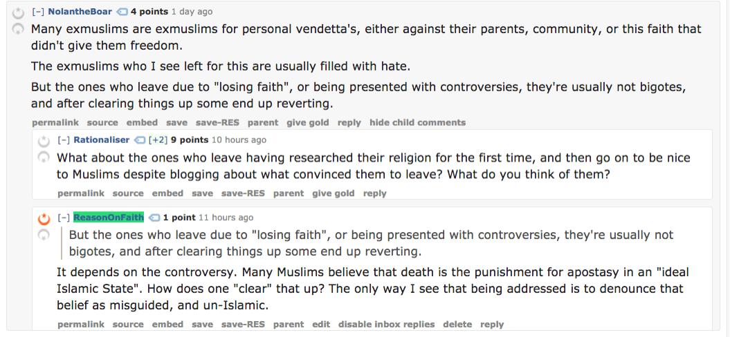 How do we bring exmuslims back into Islam islam