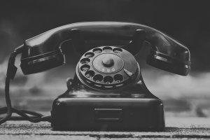 جهاز تلفون قديم