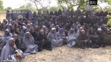 فتيات افريقيات سبايا بيد بوكو حرام الإسلامية