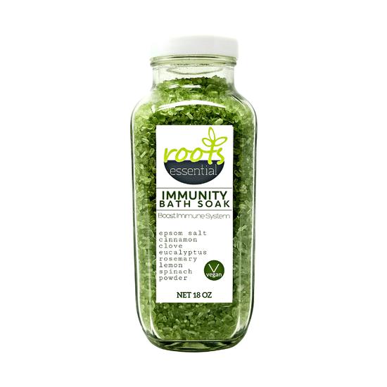 Roots Essential | Immunity Booster Bath Soak With Spinach Powder | ReAwaken Spa