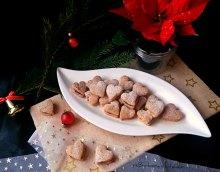 Mandlová srdíčka s čokoládovým krémem   reBarbora's kitchen