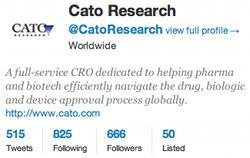 cro clinical trials twitter