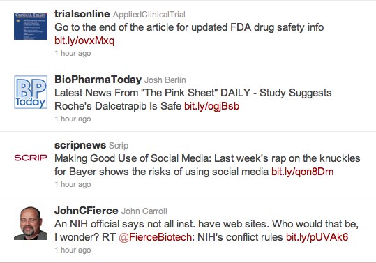 twitter-clinical-trial