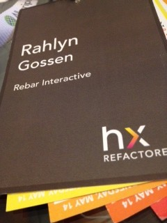 HxRefactored Badge