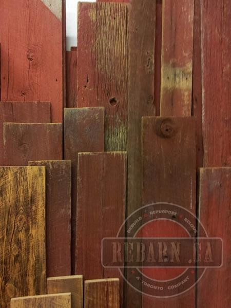 Salvaged Wood Rebarn Toronto Sliding Barn Doors