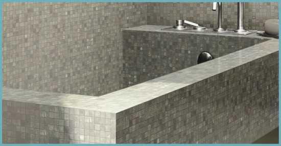 อ่างอาบน้ำอิฐ