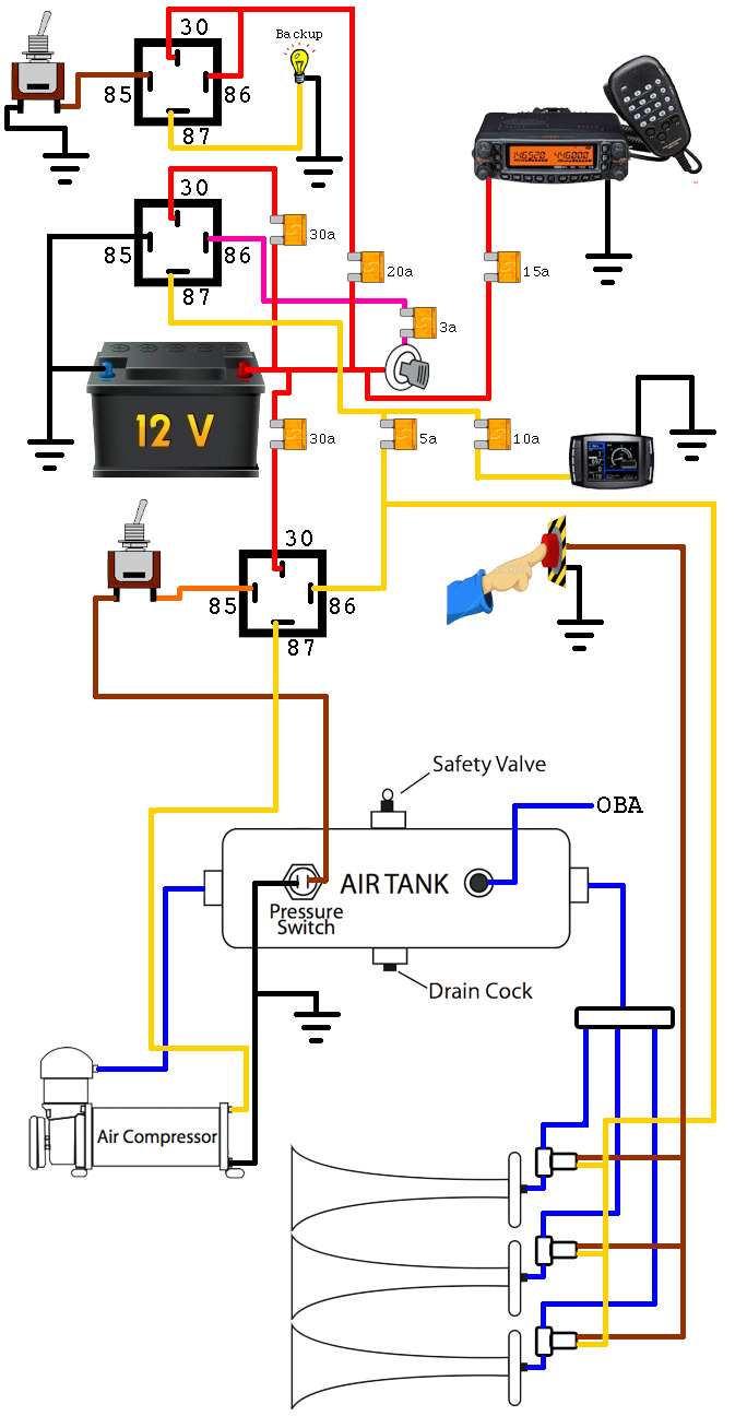 hight resolution of wiring diagram for airbag2012dodgeram 37 wiring diagram simple 12v horn wiring diagram horn without relay