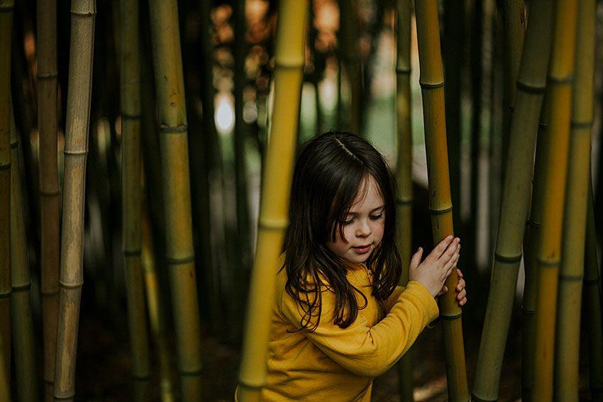 Cómo se hace una foto: un making of entre bambúes