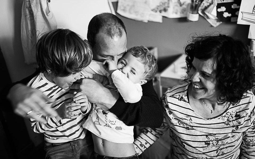 Un nuevo miembro de la familia está a punto de llegar :: Sesión de fotos en Cantabria