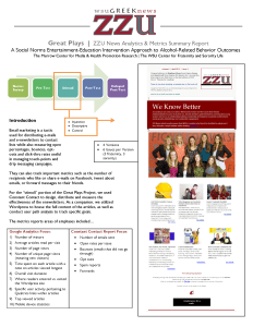 ZZU News Final Report May 2013