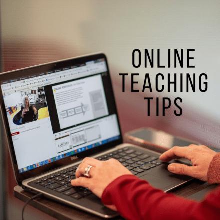 Online teaching tips series