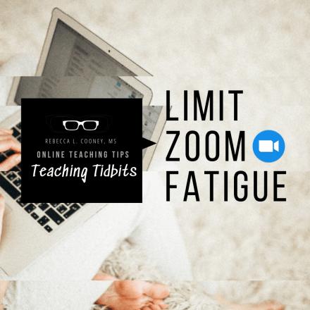 Limit Zoom fatigue