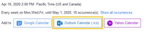 Zoom calendar integration