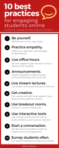 student engagement infographic