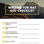 nat geographic nat geo how to write for national geographic rebecca renner writer