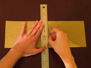Scoring straight lines with a ruler