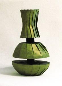 Doubly divided vase