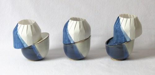 Origami-Ceramic Diagonal Shift Series