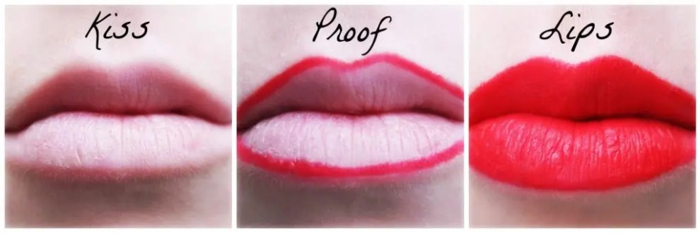 Kiss Proof Lipstick from Rebecca Loves Weddings rebeccaanderton.co.uk