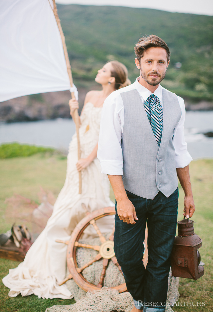 Maui Hawaii Wedding Photography Eclectic Shipwreck