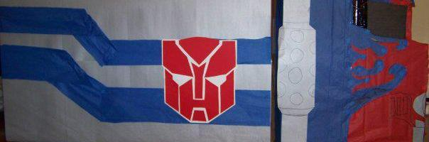 Optimus Prime Wall Decoration Tutorial