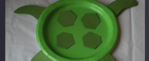 Paper Plate Turtle Craft Instructions