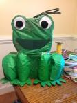 how to make a frog pinata