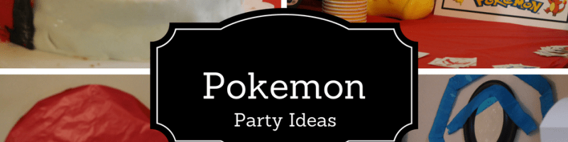 Pokemon Birthday Decoration Ideas