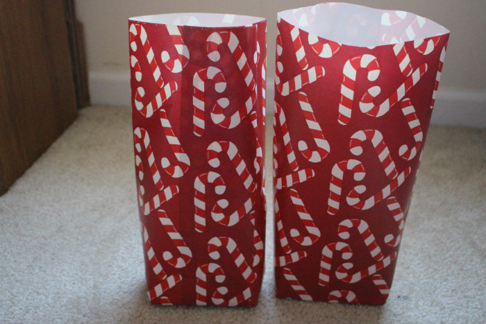 how to make gift bags from wrapping paper. Black Bedroom Furniture Sets. Home Design Ideas