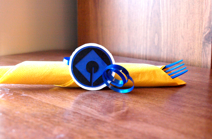Minion Napkin Rings