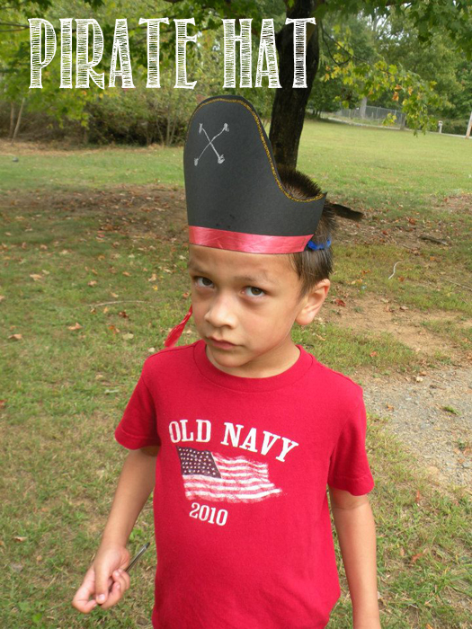 Jake and the neverland pirate hats