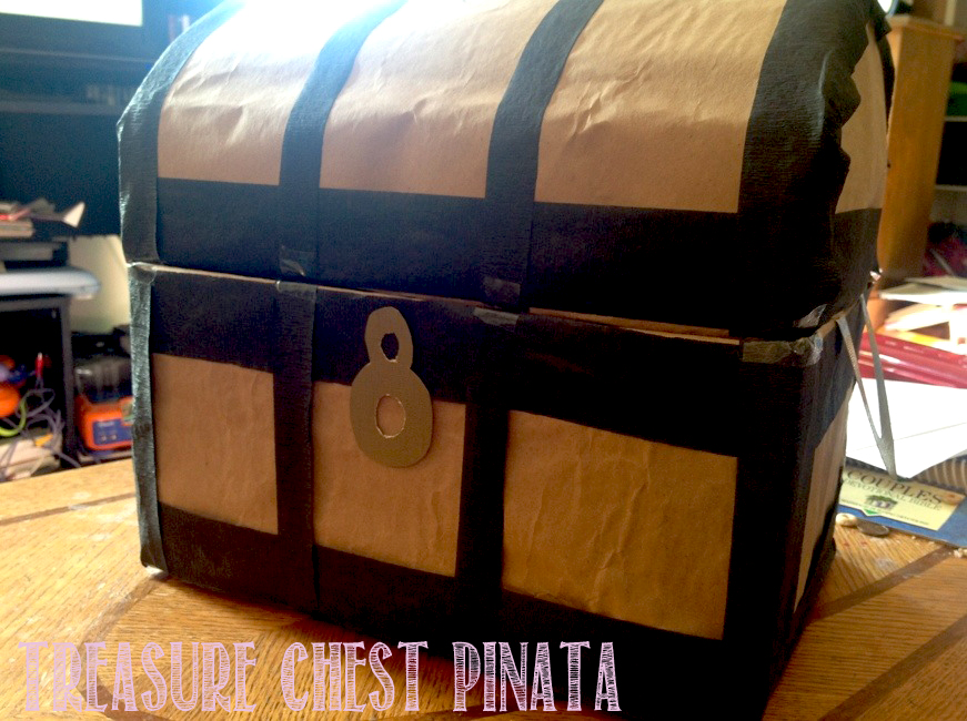 treasure chest Jake and the neverland pirate treasure chest pinata