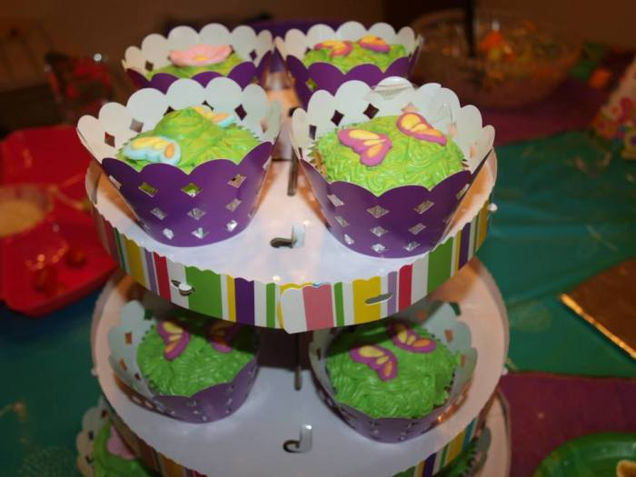 Tinkerbell Butterfly Cupcakes