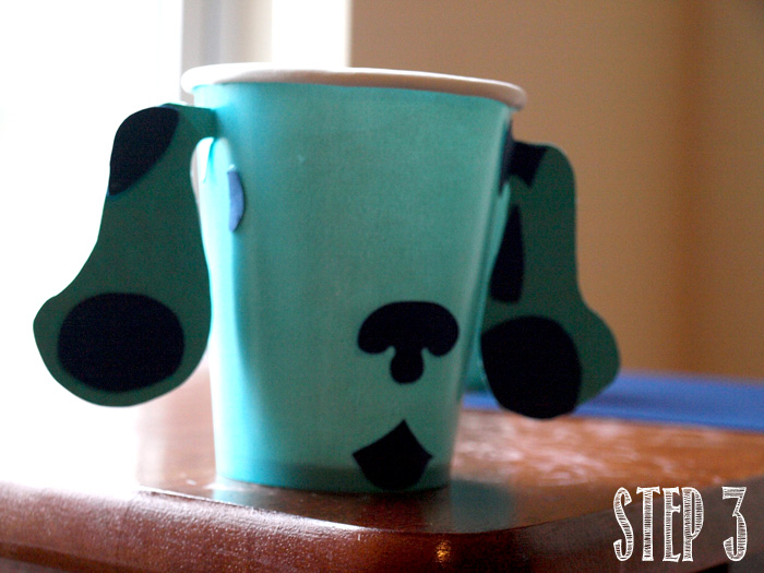 Blues Clues Cup Tutorial step 3