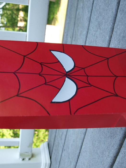 Spider-man favor bag