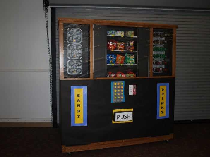 Agency D3 Snack Machine