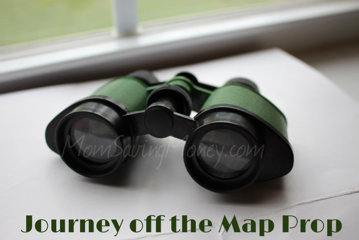 Journey off the map prop