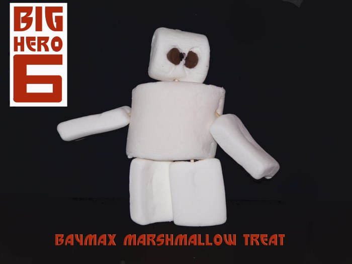 Baymax Marshmallow Treat - Big Hero 6
