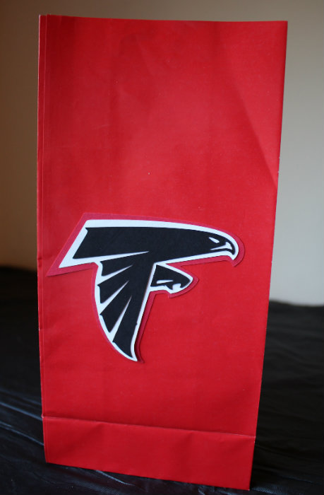 NFL Falcons Favor Bag