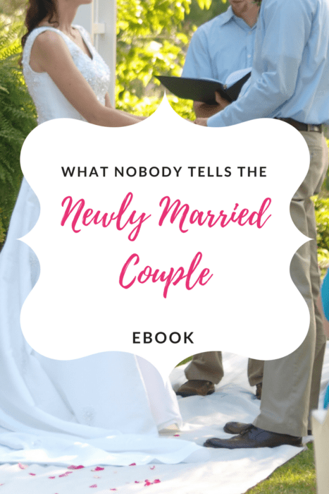 What Nobody Tells The Newly Married Couple eBook
