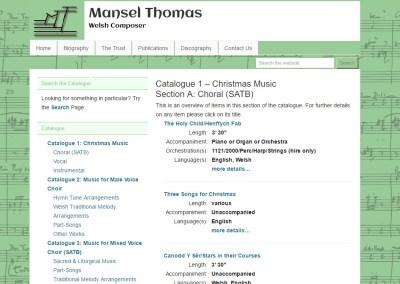 Mansel Thomas Trust