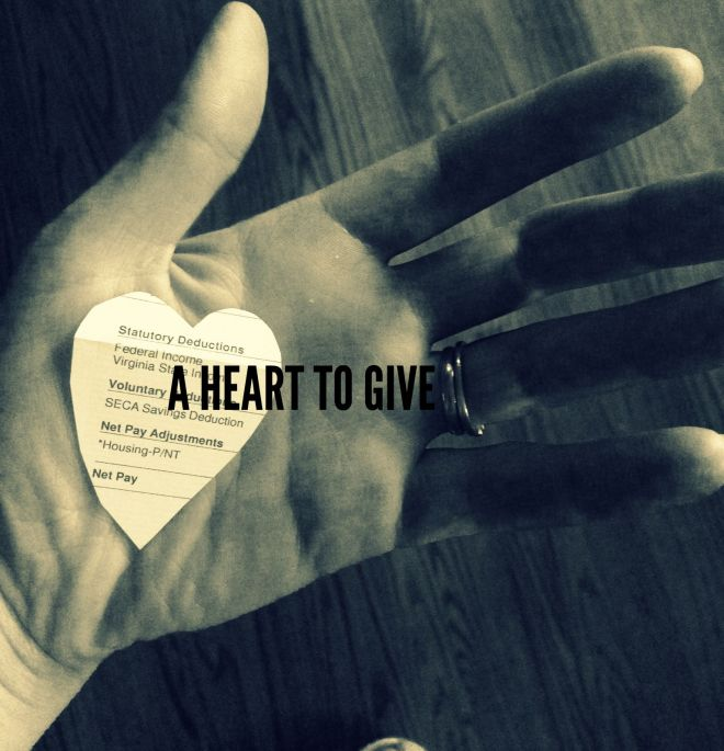 A HEART TO GIVE