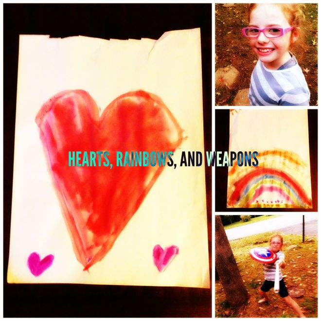 HEARTS AND RAINBOWS